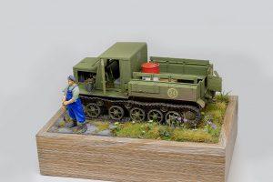 35140 Ya-12 SOVIET ARTILLERY TRACTOR. LATE PRODUCTION by Oleg Karasko