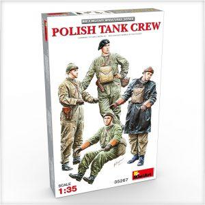 35267 POLISH TANK CREW + Kimmo Happonen