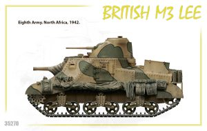 Side views 35270 BRITISH M3 LEE