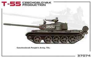 Side views 37074 T-55 CZECHOSLOVAK PRODUCTION