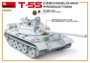 3D renders 37074 T-55 CZECHOSLOVAK PRODUCTION