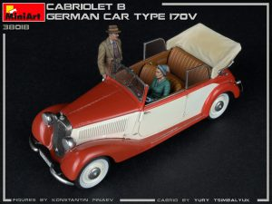 Photos 38018 CABRIOLET B DEUTSCHER AUTOTYP 170V