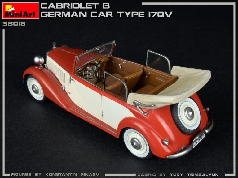 38018 CABRIOLET B GERMAN CAR TYPE 170V
