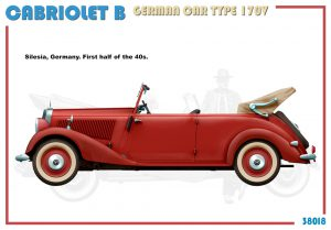 Side views 38018 CABRIOLET B DEUTSCHER AUTOTYP 170V