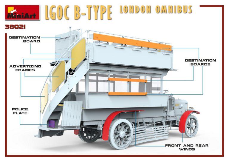 38021 LGOC B型伦敦巴士
