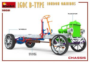 3D renders 38021 LGOC B-TYPE LONDON OMNIBUS