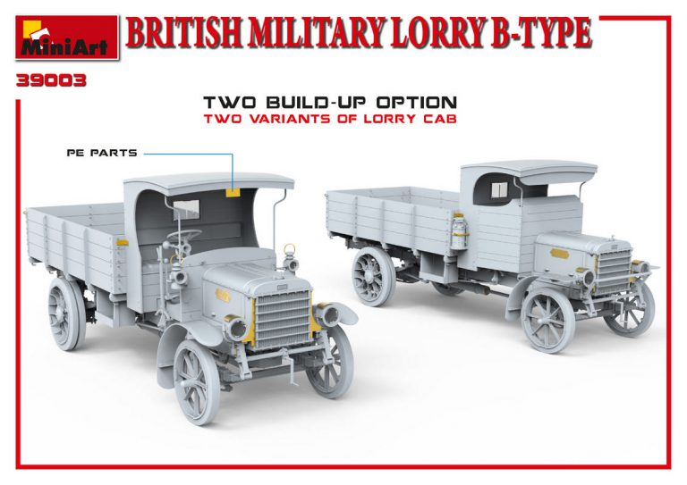 39003 BRITISH MILITARY LORRY B-TYPE