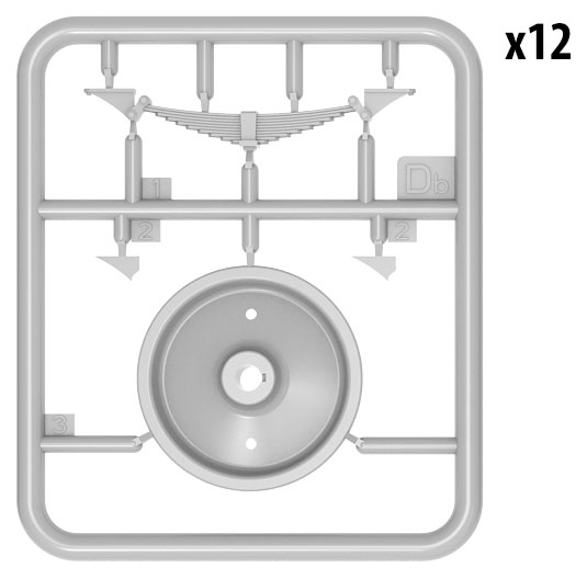 35607 RAILROAD WHEELS