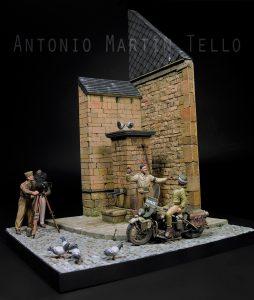 35085 U.S. MILITARY POLICE + Antonio Martin Martin Tello