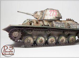 35194 T-70M SOVIET LIGHT TANK w/CREW. SPECIAL EDITION + ds_scalemodels