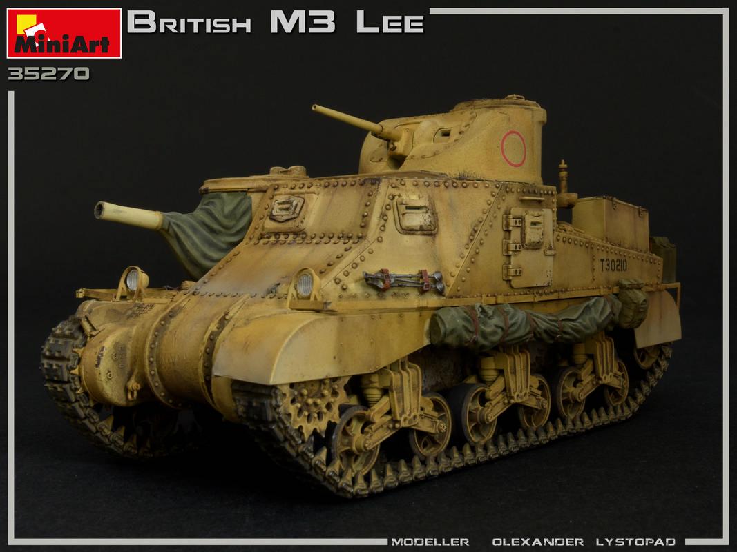 New Photos ofKit: 35270 BRITISH M3 LEE