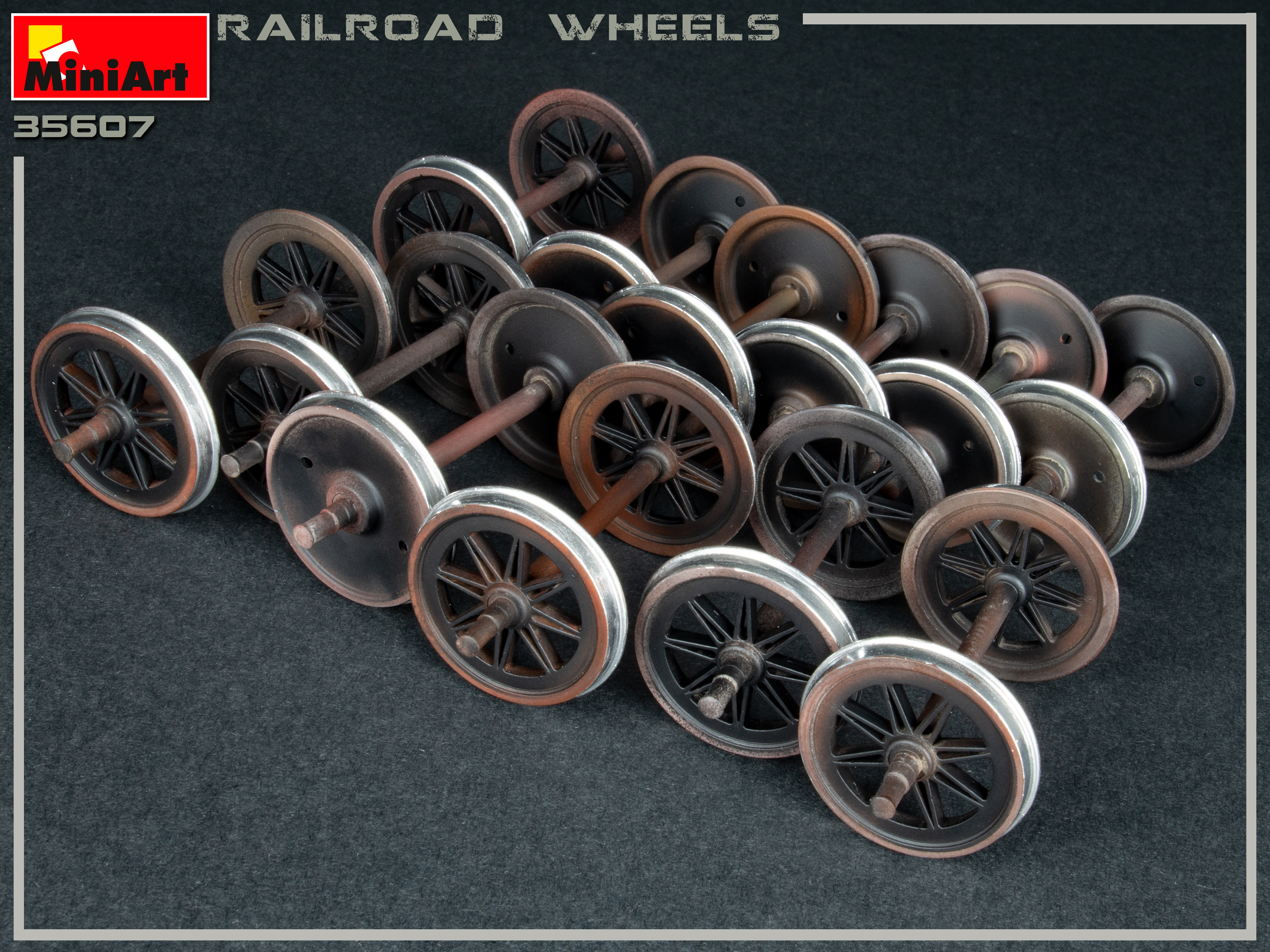New Photos of 35607 RAILROAD WHEELS