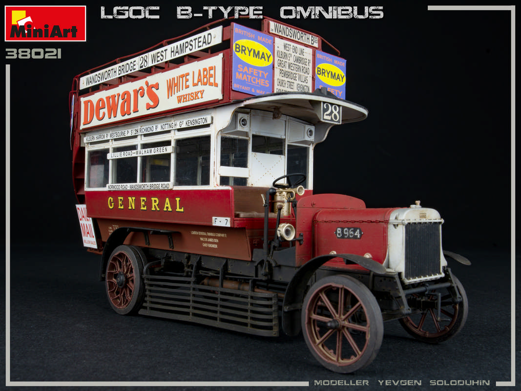 New Photos of 38021 LGOC B-TYPE LONDON OMNIBUS