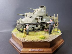 35206 M3 LEE EARLY PRODUCTION. INTERIOR KIT + 38011 SOVIET VILLAGERS + 35591 FIELD WORKSHOP + 35285 GERMAN TANK CREW AT WORK. SPECIAL EDITION +Obayashi Dai