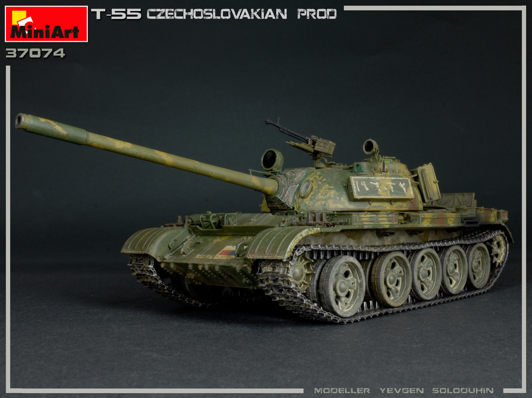 New Photos ofKit: 37074 T-55 CZECHOSLOVAK PRODUCTION