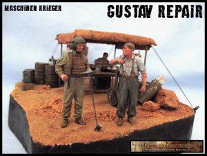 37005 U.S. TANK CREW + 35285 GERMAN TANK CREW AT WORK. SPECIAL EDITION + Ronald Hembling