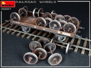 Photos 35607 RAILROAD WHEELS