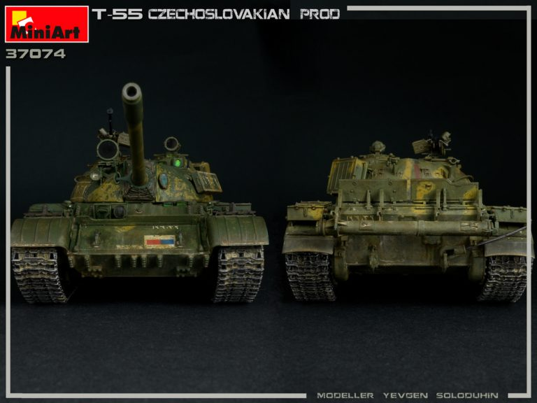 37074 T-55 CZECHOSLOVAK PRODUCTION