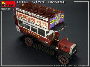 Photos 38021 LGOC B-TYPE LONDON OMNIBUS