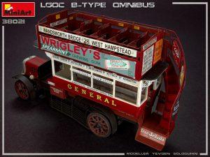 38021 LGOC B-TYPE LONDON OMNIBUS