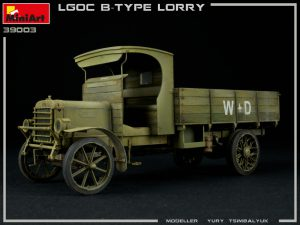 39003 BRITISH MILITARY LORRY B-TYPE + Yury Tsimbalyuk