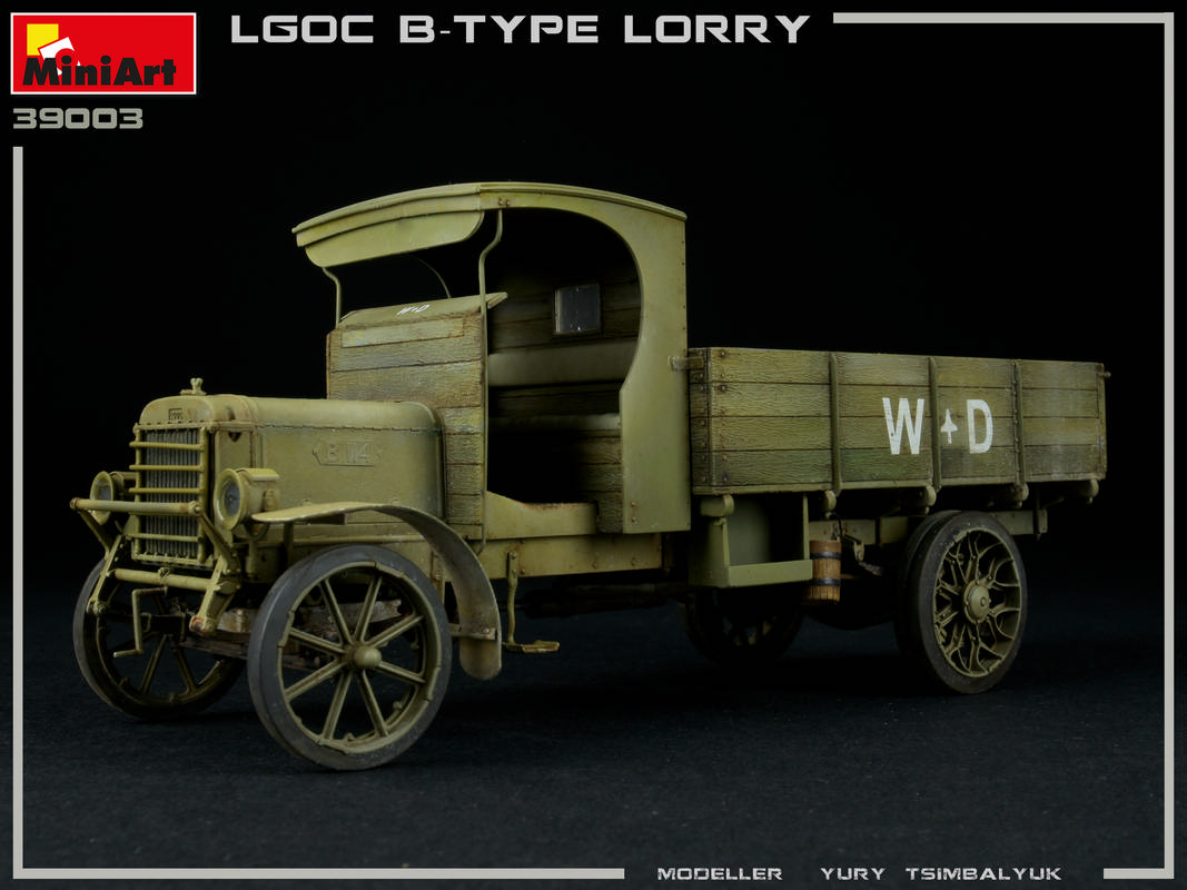 New Photos of 39003 BRITISH MILITARY LORRY B-TYPE