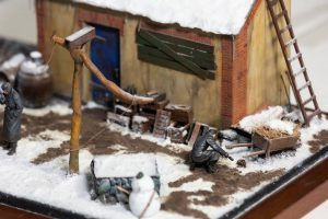 35218 GERMAN SOLDIERS (WINTER 1941-42) + 35584 EAST EUROPEAN HOME STUFF + 35534 EUROPEAN BARN + 35550 WOODEN BARRELS & VILLAGE UTENSILS + Daniele Saladino