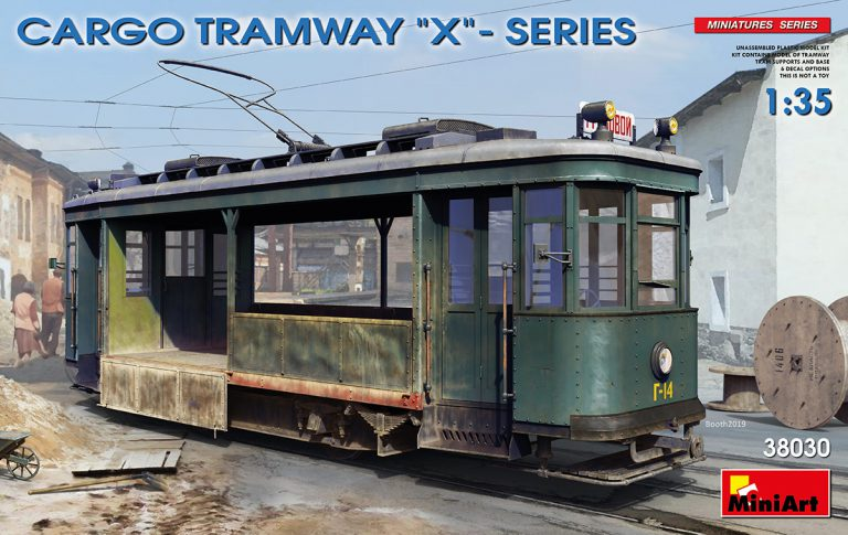 "38030 CARGO TRAMWAY ""X""-SERIES"
