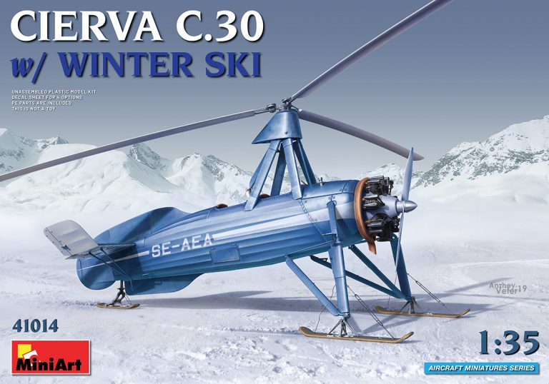 41014 CIERVA C.30 MIT WINTER SKI