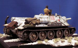 35181 SU-122 Early Production + Mark Ford