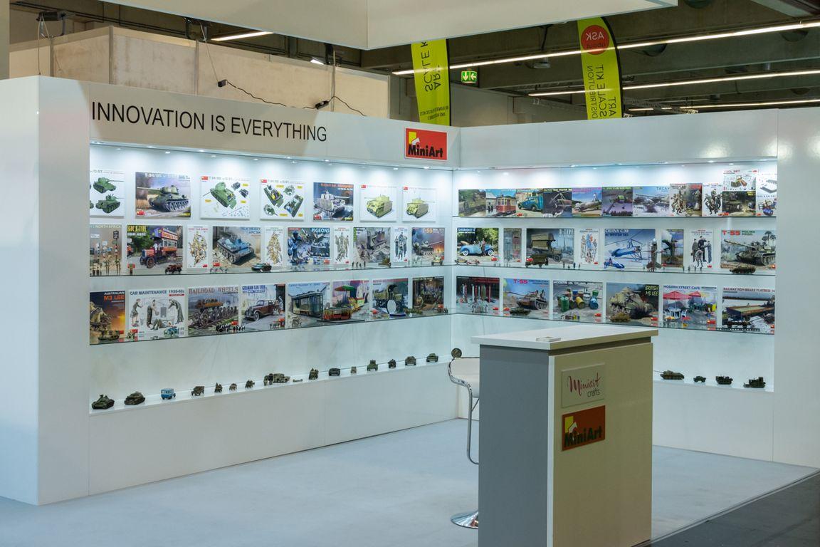 MiniArt at Nürnberg Spielwarenmesse 2020