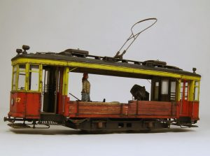38020 SOVIET TRAM X-SERIES. EARLY TYPE + 35567 RAILROAD WATER CRANE + 35593 CONCRETE MIXER SET + Eugene Tur