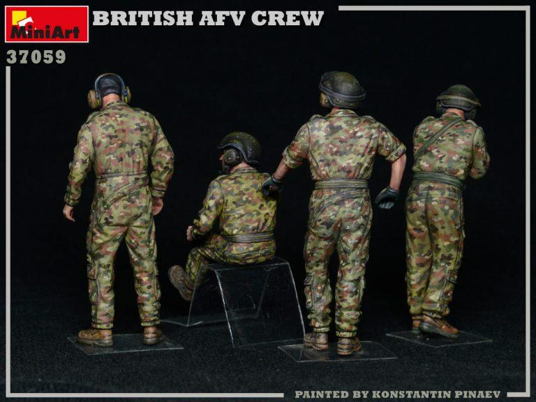 37059 BRITISH AFV CREW