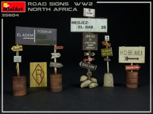Photos 35604 ROAD SIGNS WW2 NORTH AFRICA