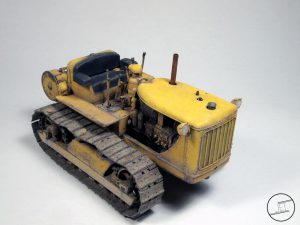 35225 U.S. TRACTOR w/Towing Winch & Crewmen + James Tremblett