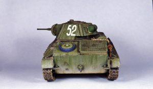 35194 T-70M SOVIET LIGHT TANK w/CREW. SPECIAL EDITION + Dmitrii Slivkov