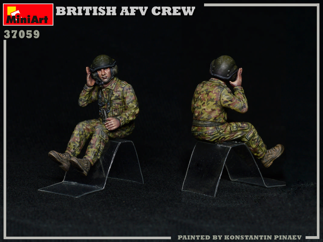 Neu Miniart 37059-1:35 British AFV Crew