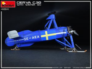 Photos 41014 CIERVA C.30 WITH WINTER SKI