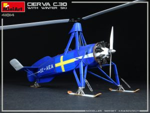 Photos 41014 CIERVA C.30 MIT WINTER SKI