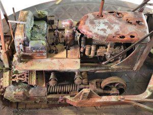 35184 U.S. ARMY TRACTOR w/ANGLED DOZER BLADE + Pieter Siegel