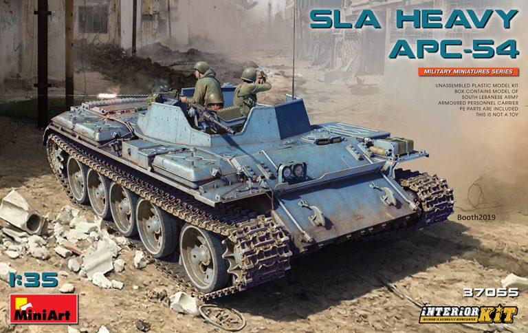 37055 SLA HEAVY APC-54. INNENAUSSTATTUNG