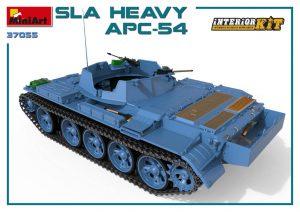 3D renders 37055 SLA HEAVY APC-54. INNENAUSSTATTUNG