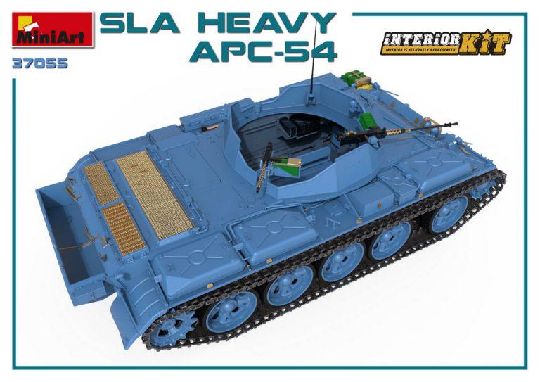 37055 SLA 重型装甲运兵车 APC-54,带内购