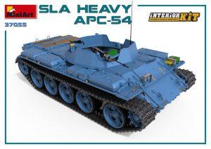 3D renders 37055 SLA 重型装甲运兵车 APC-54,带内购