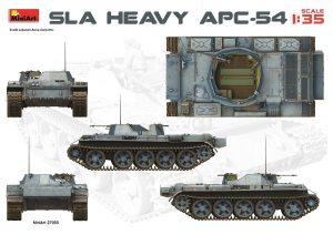 Side views 37055 SLA 重型装甲运兵车 APC-54,带内购