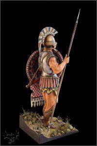 16013 GREEK HOPLITE IV CENTURY B.C.