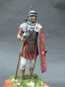 16007 ROMAN LEGIONARY II CENTURY A.D. + Frank Marcus