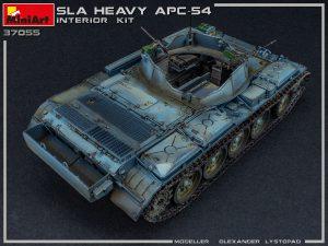 Photos 37055 SLA HEAVY APC-54. INTERIOR KIT