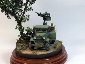 35177 GAZ-AAA w/QUAD M4 MAXIM + 35144 RED ARMY DRIVERS + Gunsmoke's models