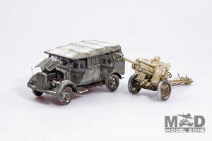35189 Kfz.70 & 7,62 cm F.K. 39 (r) + Milan Dolezal